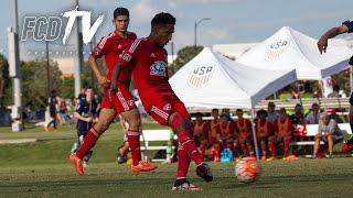 Download ACADEMY PLAYOFF HIGHLIGHTS: FC Dallas U16 vs Real Salt Lake U16 7.6.16 | FCDTV Video