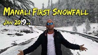 Download 2019 First Snowfall in Manali  आखिर क्यों जाएं Manali अभी ?   Must Watch   Video