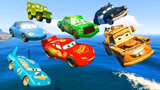 Download Cars Party McQueen King Tow Mater Chick Hicks Sally Sheriff - Videos for Kids Nursery Rhymes Songs Video