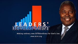 Download Leaders' Development(June 12, 2018)- THE PAST BENEFIT FROM A GLORIOUS TESTAMENT Video