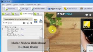 Download Flip HTML5 - Video and Photo Slideshow Product Features Video