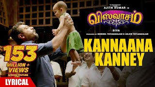 Download Kannaana Kanney Song with Lyrics | Viswasam Songs | Ajith Kumar,Nayanthara | D.Imman|Siva|Sid Sriram Video