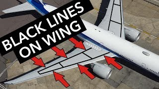 Download Boeing Facts - Black lines on the wings Video