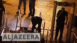 Download Israel removes metal detectors from al-Aqsa Mosque compound Video