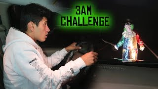 Download SCARIEST KILLER CLOWN SIGHTING ON NJ's SCARIEST ROAD // 3 AM OVERNIGHT CHALLENGE Video