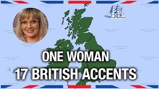 Download One Woman, 17 British Accents - Anglophenia Ep 5 Video