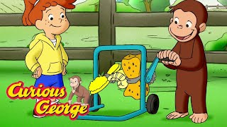 Download Curious George 🐵 George and Allie's Car Wash 🐵 Kids Cartoon 🐵 Kids Movies 🐵 Cartoons for Kids Video
