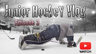 Download Junior Hockey Vlog Ep 3: Playing Better HUNGOVER | Mic'd GoPro Hockey Video