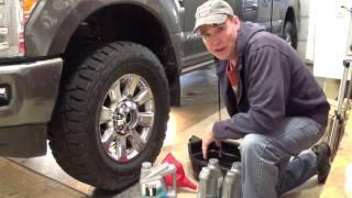 Download Oil Change 2017-2012 Super Duty Diesel 6.7L Video