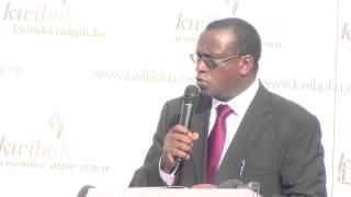 Download Speech by Senator Dr Jean Damascene Bizimana at the Kwibuka Flame Tour in Murambi Video