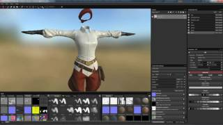 Download Character Creator Master Series - Pirate Creation Part 4: Texturing the Clothes in Substance Painter Video