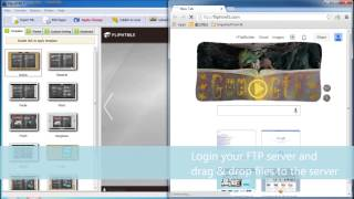 Download How to upload the created HTML5 flipbook to your own website server? Video