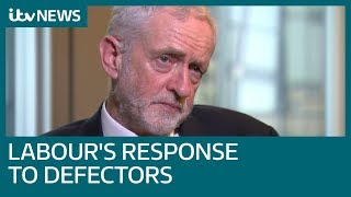 Download In full: Jeremy Corbyn on Brexit, Labour's defectors, Derek Hatton and George Galloway | ITV News Video