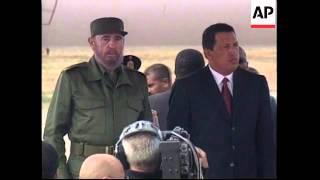 Download VENEZUELA: CUBAN LEADER FIDEL CASTRO VISIT Video