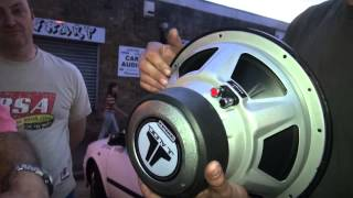 Download COUNTERFEIT JL AUDIO SUBWOOFER EXPOSED THEN BLOWN UP Video