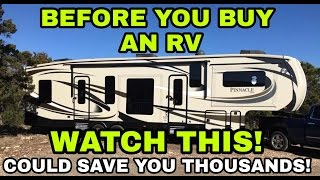 Download BEFORE YOU BUY an RV, Watch this! Video