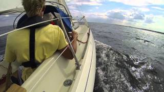 Download 1971 Albin Vega going 7.3 knots Video