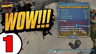 Download RIDICULOUS LUCK!! Road to OP8 Zer0 - Day 1 [Borderlands 2] Video