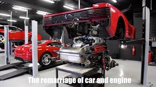 Download Prins Classics - Ferrari Testarossa disassembling / reassembling engine Video