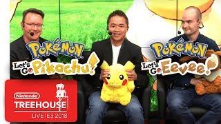 Download Pokémon: Let's Go, Pikachu! & Pokémon: Let's Go, Eevee! - Nintendo Treehouse: Live   E3 2018 Video