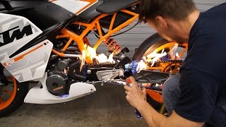 Download Will WD-40 Destroy Your Motorcycle Chain O-Rings? | MC GARAGE Video