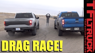 Download Old vs New - 2014 vs 2017 Ford Raptor Drag Race: And the Fastest Raptor is... Video