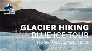 Download Glacier Hiking in Iceland - Blue Ice tour w. Arctic Adventures Video