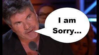 Download Simon Cowell APOLOGIZES For His MISTAKE? NEVER SEEN BEFORE! Video