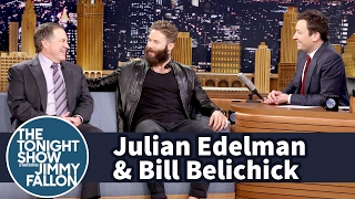 Download Jimmy Interviews Julian Edelman and Bill Belichick After Patriots' Comeback Super Bowl Win Video
