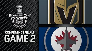 Download Golden Knights even series with 3-1 win in Game 2 Video