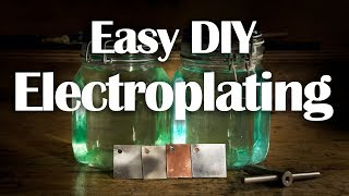 Download Electroplating - Easy DIY Nickel, Copper, Zinc Plating Video