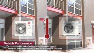 Download LG air conditioning unit inverter technology Video