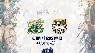 Download USL LIVE - Rochester Rhinos vs Charleston Battery 8/19/17 Video