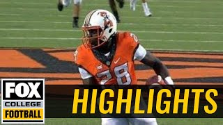 Download Tulsa vs Oklahoma State | Highlights | FOX COLLEGE FOOTBALL Video