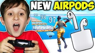 Download KID GETS AIRPODS IF BEATS DEATHRUN!!!! (FORTNITE) Video
