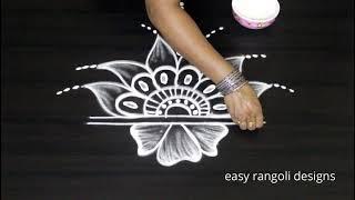 Download Freehand Rangoli designs    Kolam designs without dots    Latest Muggulu designs Video