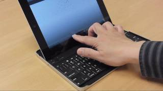 Download Logitech Keyboard Case for iPad 2 - Setting up and Bluetooth Pairing Video
