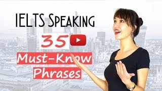 Download 35 IELTS Speaking PHRASES You Must Know | Band 8 Vocabulary Video