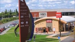 Download Warning Park in #Waitrose Car Park and Visit #Rushden #Lakes Video