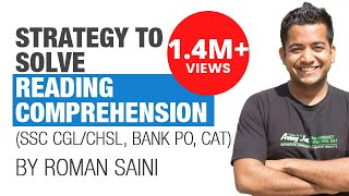 Download (हिंदी) Strategy and tricks to solve reading comprehension: Roman Saini Video