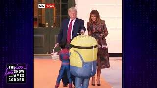 Download Does Trump Know How Trick-or-Treating Works? Video