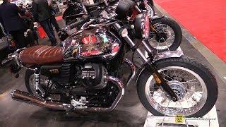 Download 2018 Moto Guzzi V7 50th Anniversary - Walkaround - 2018 Toronto Motorcycle Show Video