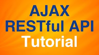 Download AJAX, RESTful API Tutorial - Perform CRUD Operations with Node server Video