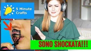 Download 😱SONO SHOCKATA! il PEGGIOR canale del mondo! 5 minutes crafts beauty tips reaction ! Video
