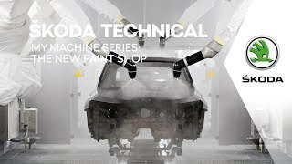 Download ŠKODA TECHNICAL: My Machine – The New Paint Shop Video
