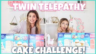Download Twin Telepathy Cake Challenge | Quinn Sisters Video
