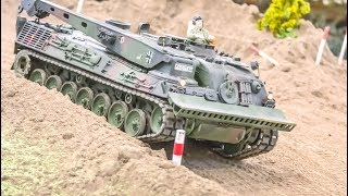 Download Awesome RC Military Tanks and Trucks in Action! Video