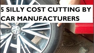 Download 5 Silly Cost Cutting By Car Manufacturers that Everyone should know Video