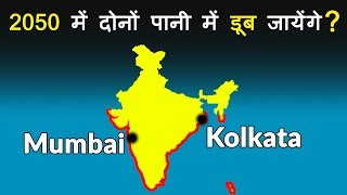 Download How much is sea level rising? Climate Change Impact on Mumbai & Kolkata Video