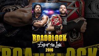 Download WWE: Roadblock 2016 Video